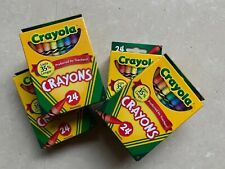 Crayola Crayons 24's (4 Pack), Nontoxic Made in Usa