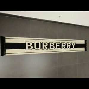 Burberry Logo Cashmere Scarf/Shawl for Women - Multicolour