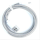 NEW1M 2M 3M 8 PIN USB Data Sync Charger Cable BRAIDED For iPhone SE 5 5s 6 7 plu
