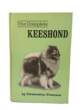 Vintage 1980 The Complete Keeshond By Clementine Peterson Hc * Collectible