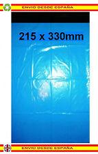50 Bolsas de plástico reciclable 215x330mm envios post paquetes mailing correo