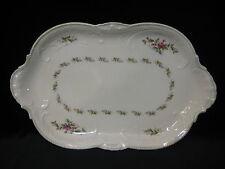 Rosenthal Selb Germany Sanssouci USA Standard10 Rosen Serving Oval Platter, 15.5
