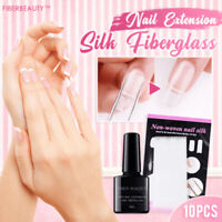 Nail Extension Fiberglass Set Strong Adhesion Acrylic Tips Beauty Manicure Tool