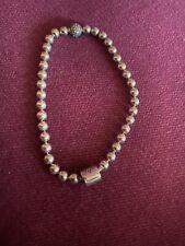 Genuine Pandora Beads & Pavè Bracelet Size - 17cm S925