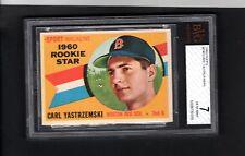 1960 Topps # 148 Carl Yastrzemski RC 7  NM