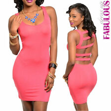 New Sexy Cut Out Mini Dress Size 6 8 10 12 Hottest Summer Party Clubbing Wear