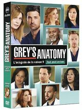 "DVD ""Grey's Anatomy (À coeur ouvert) - Saison 9""  NEUF SOUS BLISTER"