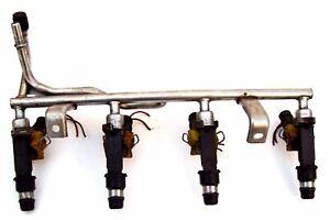 Vauxhall Corsa Fuel Injectors & Rail Petrol 90536149