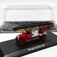 Atlas Magirus DL 26 Fire Engine Diecast Models 1/72 Limited Edition Collection