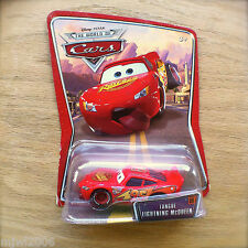 Disney PIXAR Cars TONGUE LIGHTNING McQUEEN diecast #09 airborne at race World of