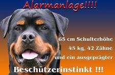 Rottweiler Alu A4 Warnschild (R12)