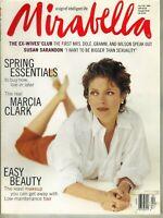 SUSAN SARANDON Mirabella Magazine January/February 1996 MARCIA CLARK