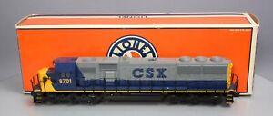 Lionel 6-18251 CSX EMD SD60 Diesel Locomotive LN/Box