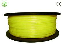 Filament- fil imprimante 3d PLA 1.75mm Jaune 1kg Ce-rohs Pla175jau