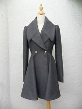 2014 ALEXANDER MCQUEEN DOUBLE BREASTED CIRCLE COAT! SO CHIC!