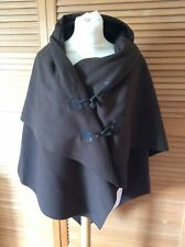 Ladies Brown Cape Made In Italy