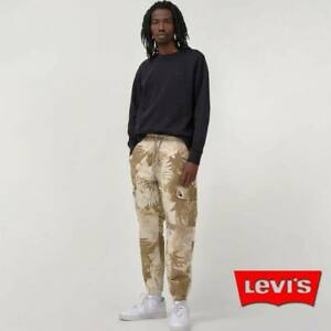 LIMITED LEVI'S PREMIUM AVIATOR UTILITY JOGGER PANTS STRETCH RIP STOP TAPER SMALL