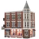 HO Woodland Scenics Built Up Davenport Department Store with Lights BR5039 BNIB
