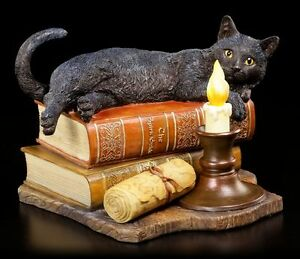 Katzen Figur - Witching Hour - Lisa Parker - Hexen Fantasy Deko Magie