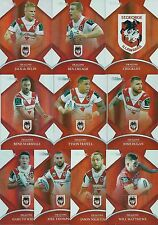 2016 NRL Traders Parallel ST. GEORGE ILLAWARRA DRAGONS Team Set