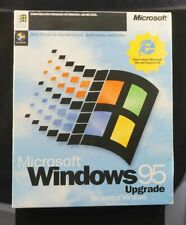 (SEALED CDs, OPEN BOX) Microsoft Windows 95 RARE EDITION WITH IE 4.0
