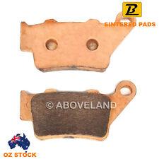REAR Sintered Brake Pads HUSQVARNA SM 510 R 2005