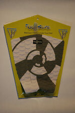 Full-Bore Surfboard Traction Pad 3 Piece Gray/White