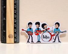"The Beatles Jam Session Band 2x4"" Decal Sticker #4381"