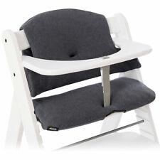 Hauck Sitzauflage Sitzverkleinerer Sitzkissen für Hochstuhl Alpha Plus Grau