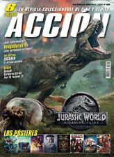 Acción Cine Magazine - June 2018 + 8 Posters - JURASSIC WORLD FALLEN KINGDOM
