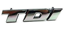 Original VW BUS t4 TDI Signe Emblème Logo Inscription Chrome I 701853679A-NEUF