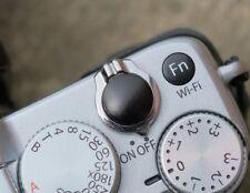 Pro Quality Shutter Button Soft Release Metal Black Convex Fuji X-E1 XE2 X-Pro2