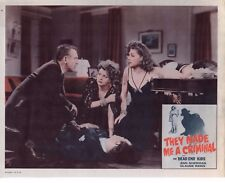 ANN SHERIDAN THE DEAD END KIDS THEY MADE ME A CRIMINAL RE1956 11X14   #1482