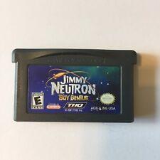Jimmy Neutron: Boy Genius - Nintendo Game Boy Advance GBA Game