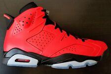 "New Air Jordan Retro 6 VI ""INFRARED 23"" TORO BRAVO RED 384664-623 Sz 10"