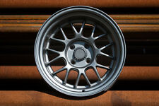 7 Twenty Style 44 Alloy Wheels 4X100 15X9J ET0 Polo Corsa MX5 Lupo  Matt Grey