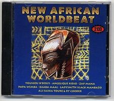 NEW African World Beat (1995) Papa Wemba, Angelique Kidjo, Soul Brother... [2 cd]