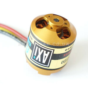 AXI GOLD LINE 2217/20 Short Shaft 60cm Cables Brushless Motor
