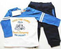 Hose Shirt Gr.68 H&M NEU 100% Baumwolle blau weiß Jogging Anzug set baby