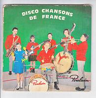 DISCO CHANSONS FRANCE 2 x Disques 45T EP SOIR VIENNE - NOËL Pub POULAIN P1 + P4