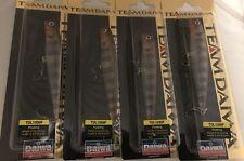 (4) TEAM DAIWA TD CRANKBAIT DEALER BOX TDL1090F06 Translucent Perch