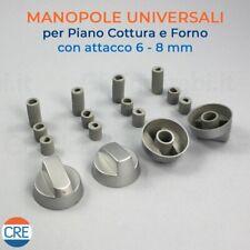 4 Manopole + Attacco 6-8 mm Grigio Forno Universale ARISTON INDESIT - COK757UN