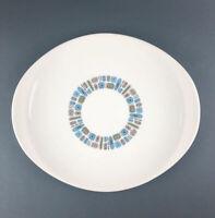 "Canonsburg Temporama 13"" Oval Serving Platter Vtg Mid Century Atomic"