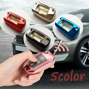 For Peugeot Vauxhall Opel Remote Car Key Fob Cover Case TPU Soft Rubber