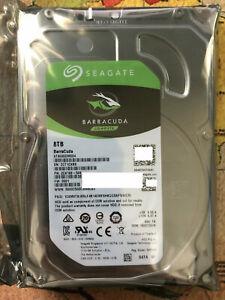 """ST8000DM004 Seagate Barracuda 8TB 5400RPM 256M 6Gb/s 3.5"""" SATA Hard Drive New"""