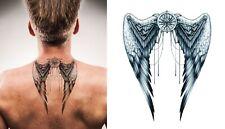 High Quality 21cm x 15cm Fake Tattoo Angel Wings Temporary Tattoo /-b31-/