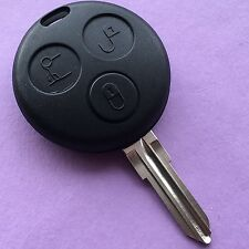 Smart Car 3 Button Remote Key Fob Case For City Roadster Fortwo Forfour Coupe