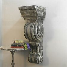 """Giant Corbel Bracket Architectural Element Stamped Press Tin Antique Replica 42"""""""