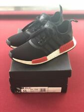 "Adidas Originals NMD R1 Runner Black Red ""Bred"" BB1969 Size 10.5"