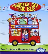 Wheels On The Bus CD - Childrens, Kids, Nursery Rhymes, Songs, Music **NEW**